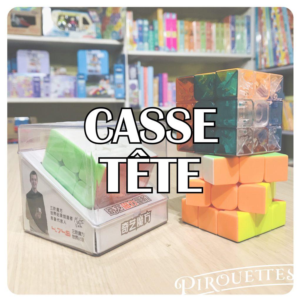 CASSE TÊTE TITRE