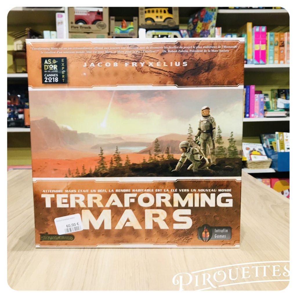 Jeu de société, Terraforming mars
