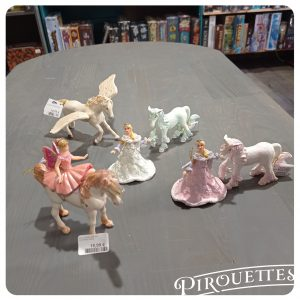 Figurine papo : princesses, licornes, fées