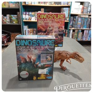 Dinosaure à déterrer
