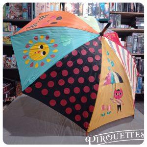 Parapluie coloré