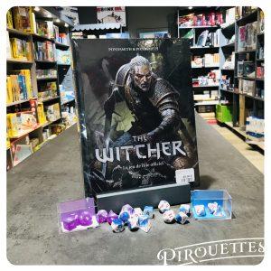 Jeu de rôle the Witcher, et dés