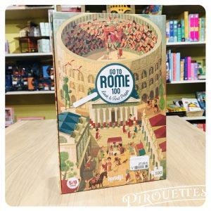 Puzzle 100pièces, Rome antique, londji