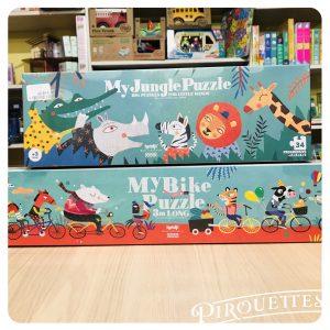 Puzzle géant 34 pièces et puzzle 50 pièces, Londji