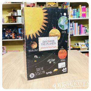 Puzzle 200 Pièces, système solaire, londji