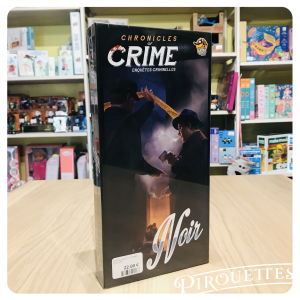 Chronicles of crime extention